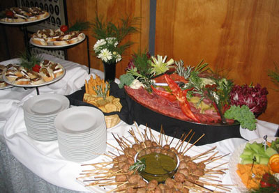 Catering for a bridal shower