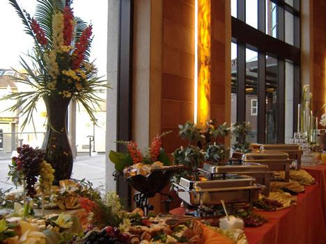 Feast your Eyes, wedding buffet
