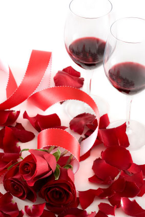 red wine can add passion to your wedding