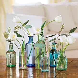 easy and simple, DIY floral wedding centerpieces