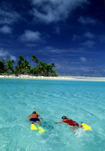 Tropical Honeymoon Destinations: Snorkeling in the Cook Islands