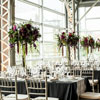 This floral design by Fleurs des Jardins is simply breathtaking, as is the overall design by Blanc Events.