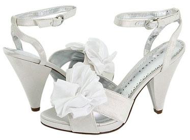 Cheap, non-traditional wedding shoes
