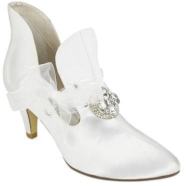 Lizbeth, cool granny-style wedding shoes
