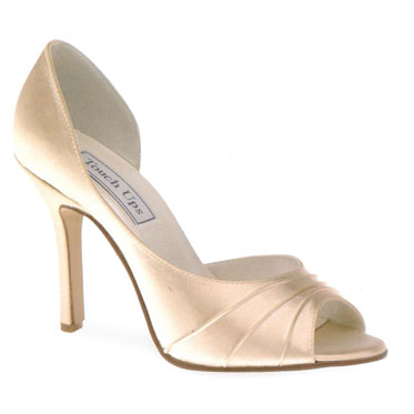 Dyable wedding shoes - dyed!