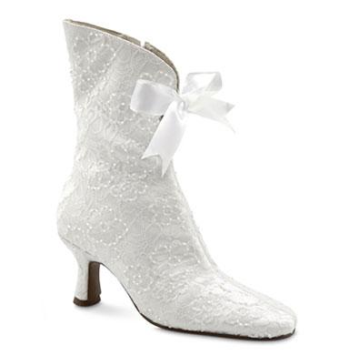 Granny boots wedding shoes