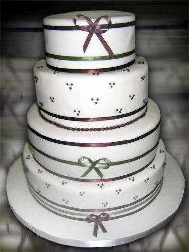 Just Temptations - Petal Wedding Cake